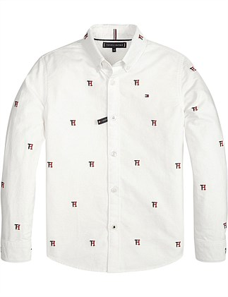 aed2744e4 Allover Tommy Oxford L/S Shirt (Boys 8-14 Years) ...