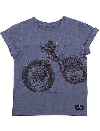 MOTORCYCLE BOY TEE