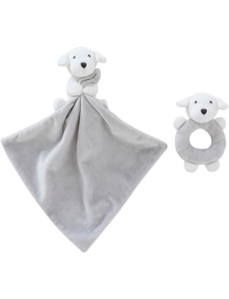 Dillie Comforter & Teething Toy Gift Set