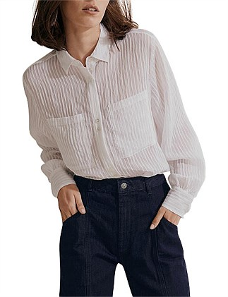 Self Stripe Blouse