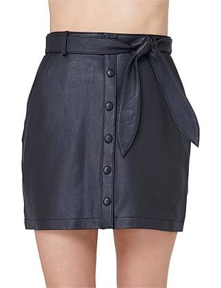 e835722b4 Ruby Leather Skirt. Elka Collective