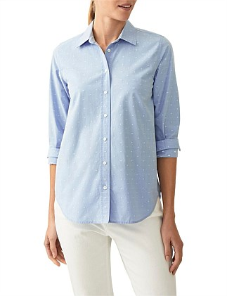 Cotton Spotted Shirt