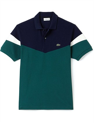 Retro Colour Block Polo