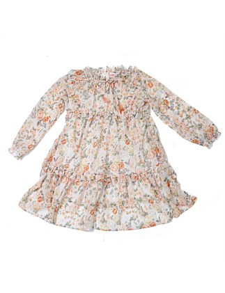 Celine Floral Dress (Girls 3-7 Years)