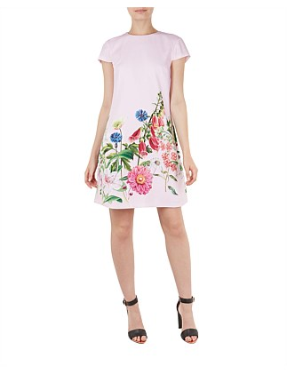 Gemmma Florence Print Swing Dress