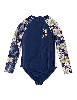 Bikini Point LS Onesie (Girls 8-14 Yrs)