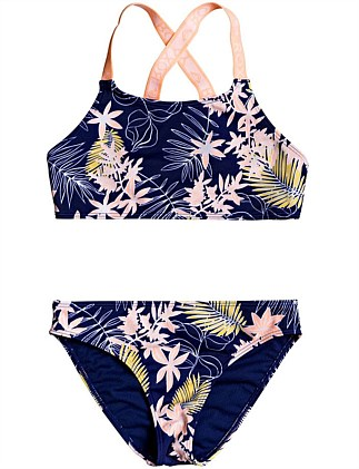 Bikini Point Crop Bikini (Girls 8-14 Yrs)