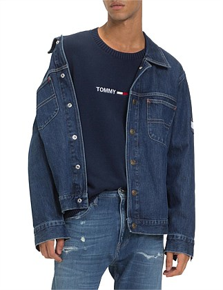 0cf47402d Oversized Trucker Slmr Special Offer On Sale. TOMMY JEANS