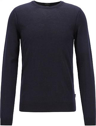 04a17decf38ae Crew-Neck Sweater In Virgin Wool