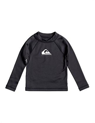 Heater LS Ls Boy Rashie (Boys 2-7 Yrs)
