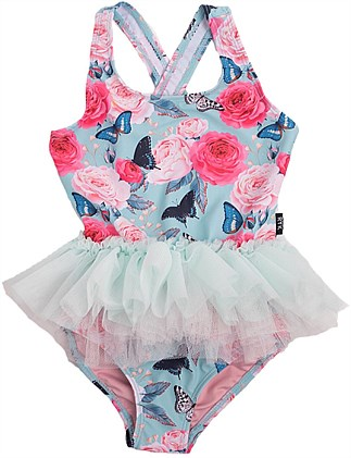 Madame Butterfly Tulle One Piece (Girls 2-7 Yrs)