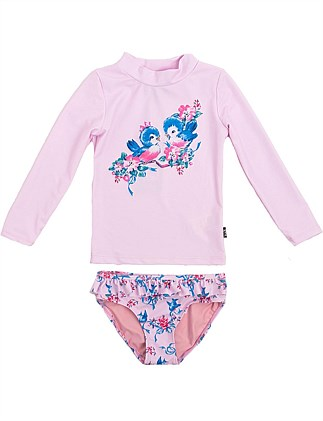Blue Birds Swim Set (Girls 2-7 Yrs)