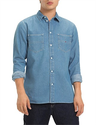TJM DENIM POCKET SHIRT