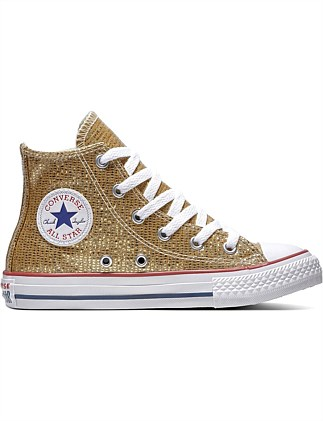 6e489b6e2d41 CHUCK TAYLOR ALL STAR SPARKLE - HI Special Offer. Converse