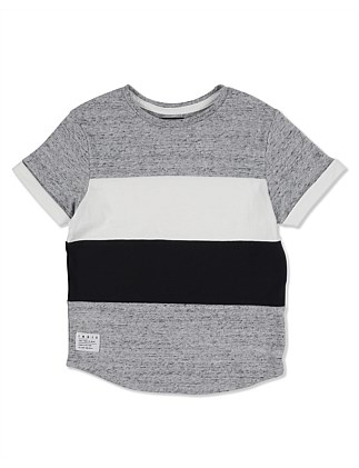 Block Tee W19 (Boys 3-7 Years)