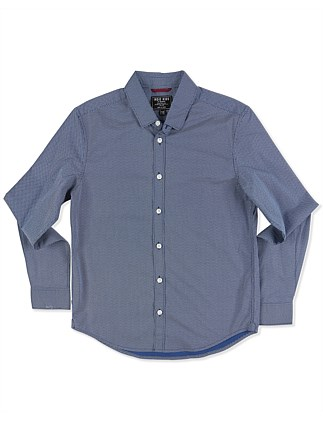 Tight Polka Ls Shirt (Boys 3-7 Years)