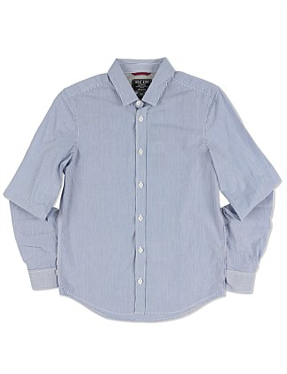 Slicker Stripe Ls Shirt (Boys 3-7 Years)