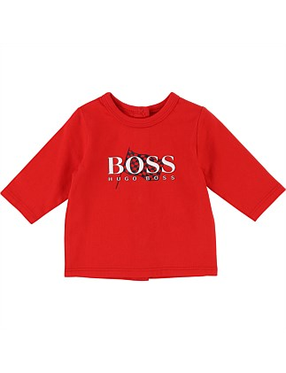 6bd2c63987f1e Long Sleeve T-Shirt (3-18Months). Hugo Boss
