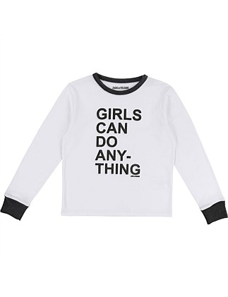 Long Sleeve T-Shirt (6-14Years)