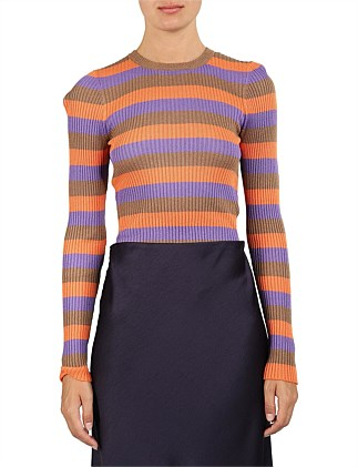 maya stripe knit