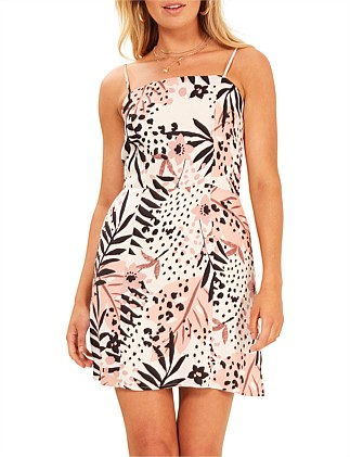 hot tropic mini dress