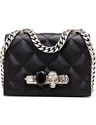 SMALL JEWEL SATCHEL QUILTED