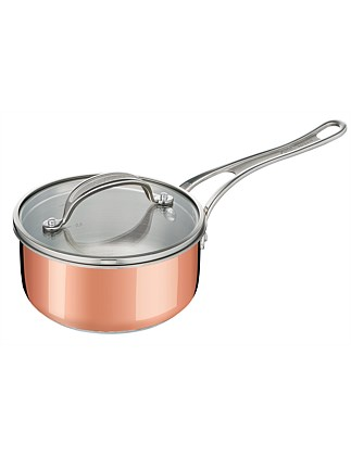 Jamie Oliver by Tefal Copper Triply Saucepan 16 cm + lid