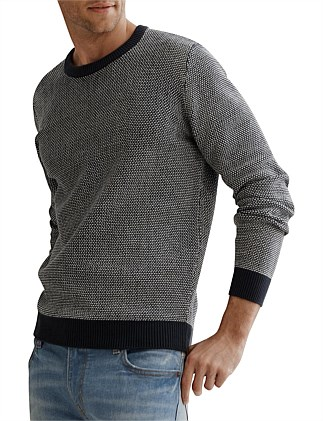 Reverse Texture Knit