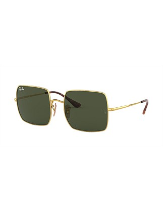 Ray-Ban Icons Gold Square