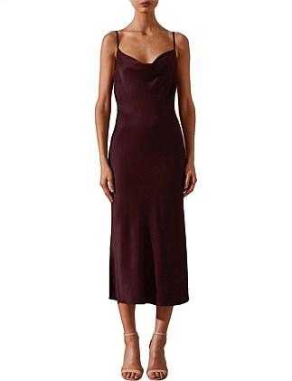 dad06bd6acd Morrison Bias Cowl Midi Dress. Shona Joy