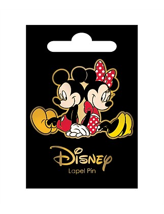 MINNIE & MICKEY LAPEL PIN