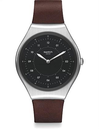 35bad855b652 Skin Brushed Watch. Swatch