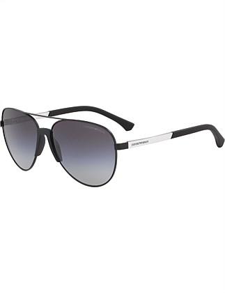 34be3f37715d EMPORIO ARMANI Rubber Sunglasses