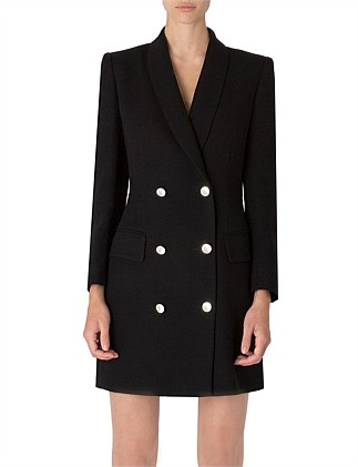 THE LUX TUX COAT DRESS