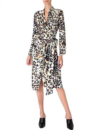 LA DOLCE VITA WRAP DRESS