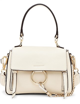 FAYE DAY MINI DOUBLE HANDLE LEATHER BAG
