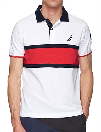 FRONT CHEST BLOCKED POLO