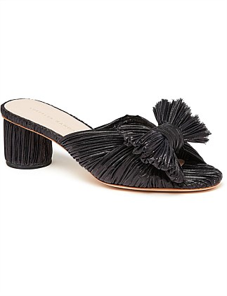 075fa0934 Emilia Pleated Knot Mule