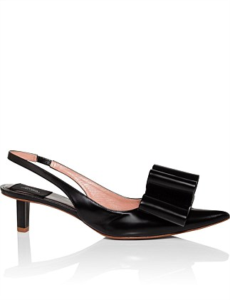 Slingback Pump With Bow