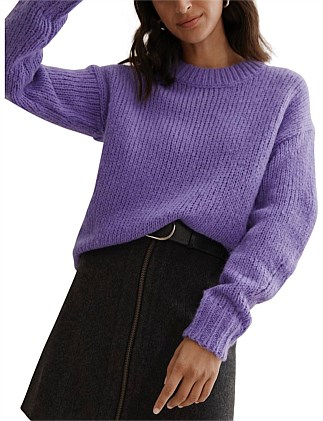 Oversized Crew Sweater