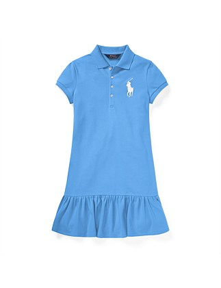 Big Pony Short-Sleeve Dress (S-XL)