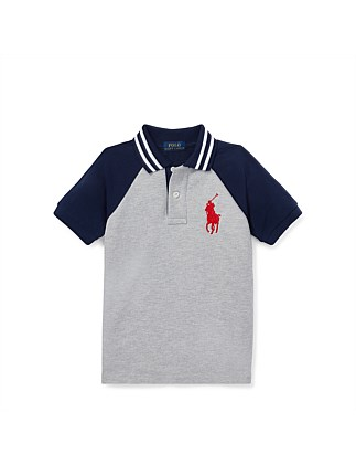 Cotton Mesh Polo Shirt (2-3 Years)