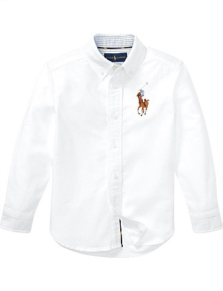 Big Pony Cotton Oxford Shirt (4-7 Years)