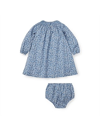 Floral Smocked Cotton Dress (6-24 Months)