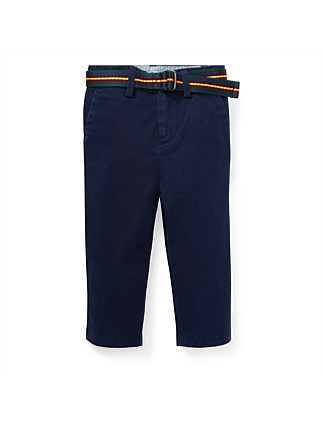 fd7116e8 Belted Stretch Cotton Chino (12-24 Months). Polo Ralph Lauren