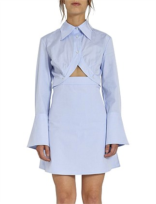 Double Helix Shirt Dress