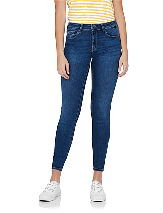 Alissa High Rise Ankle Jean