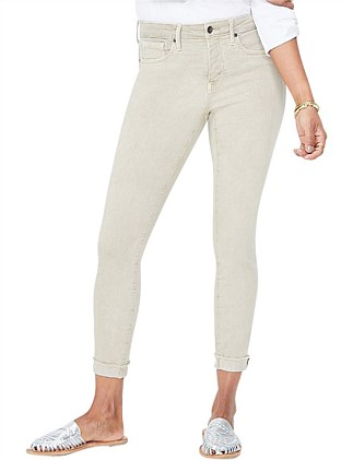 Ami Skinny Ankle Jean With Cuff