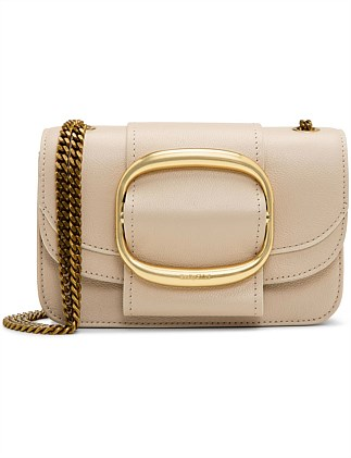 HOPPER LEATHER CROSSBODY BAG SMALL