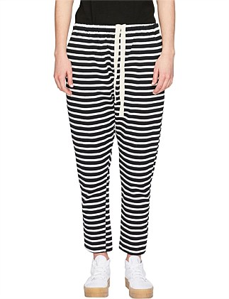 Striped Rugby Panelled Pant
